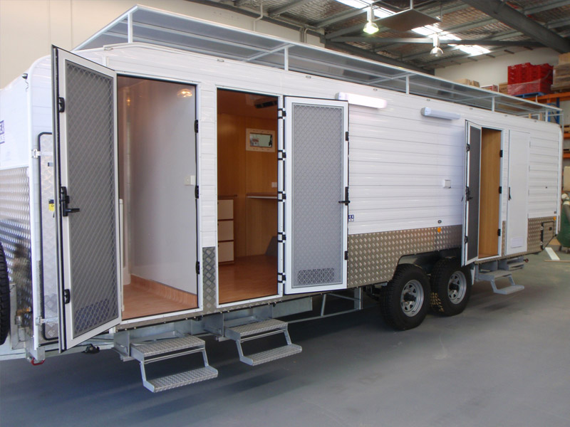 Mining caravan hire kalgoorlie bunk houses fiesta Homes with separate living quarters
