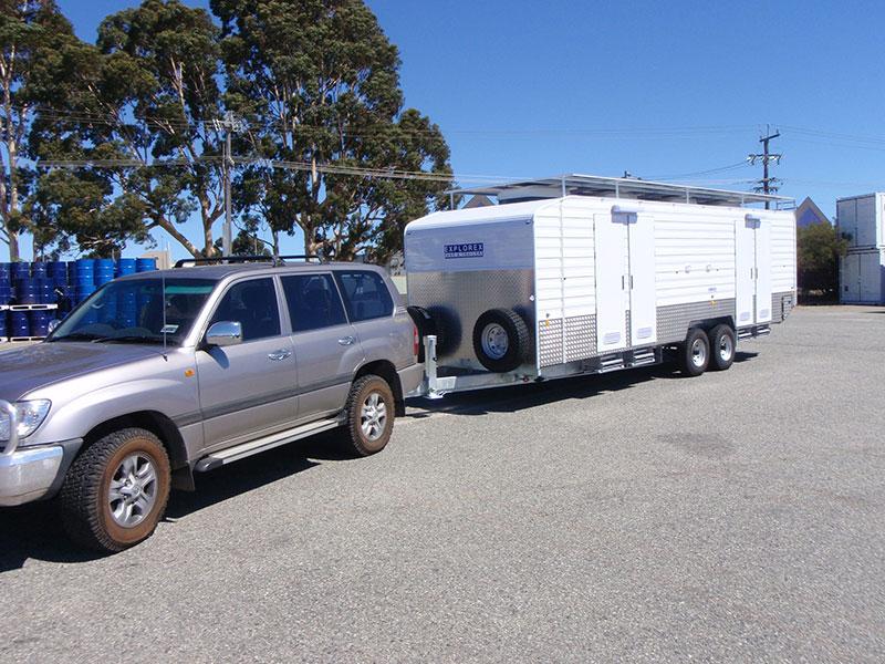 Mining Exploration Caravan Hire Kalgoorlie Fiesta Caravan Hire
